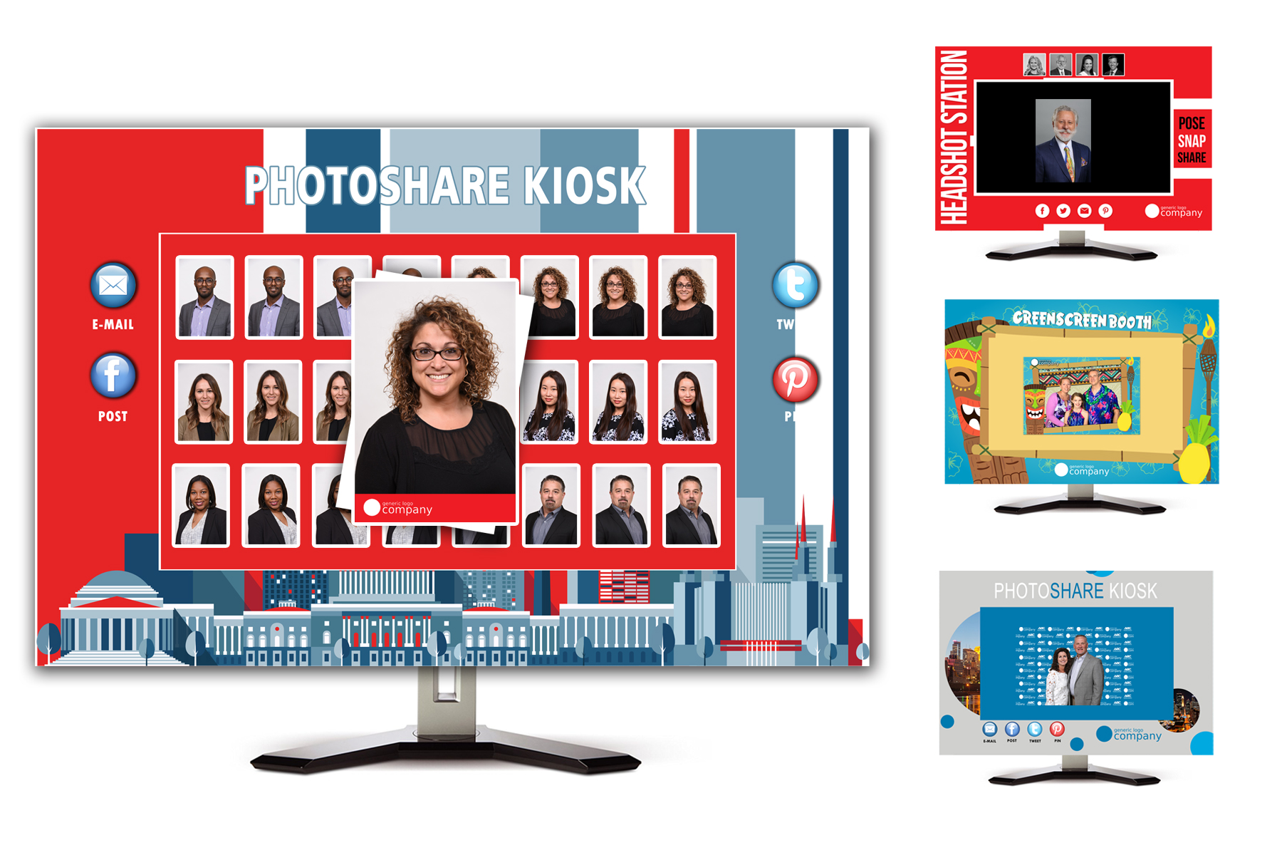 PhotoShare Kiosks For Your Next Corporate Event