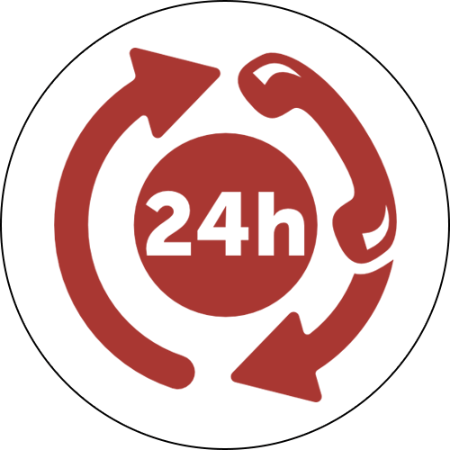 24 Hour Customer Service Icon