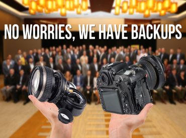 4 Reasons Why You Need Backup Equipment - Event Photography