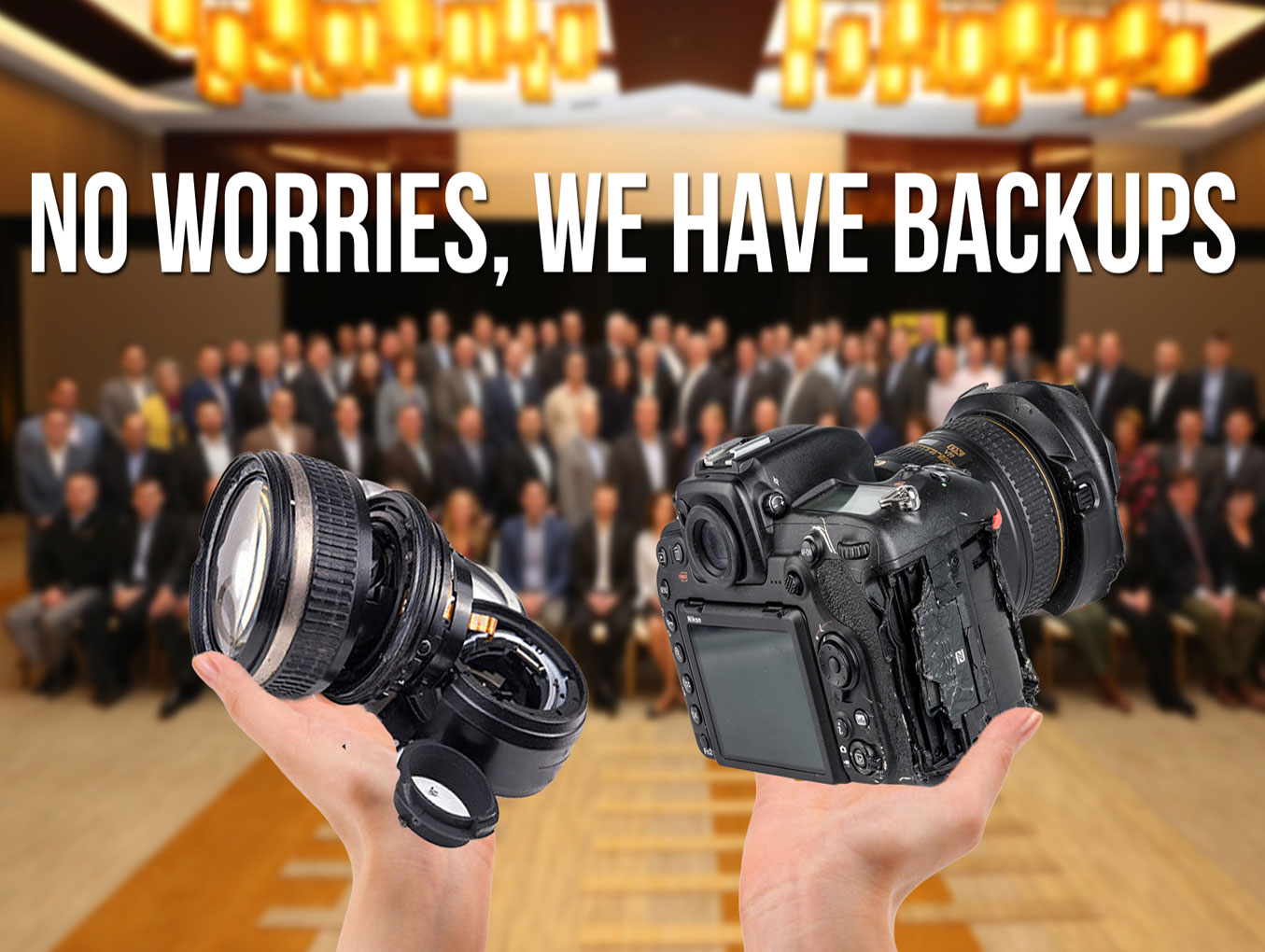 4 Reasons Why Photographers Need Backup Equipment