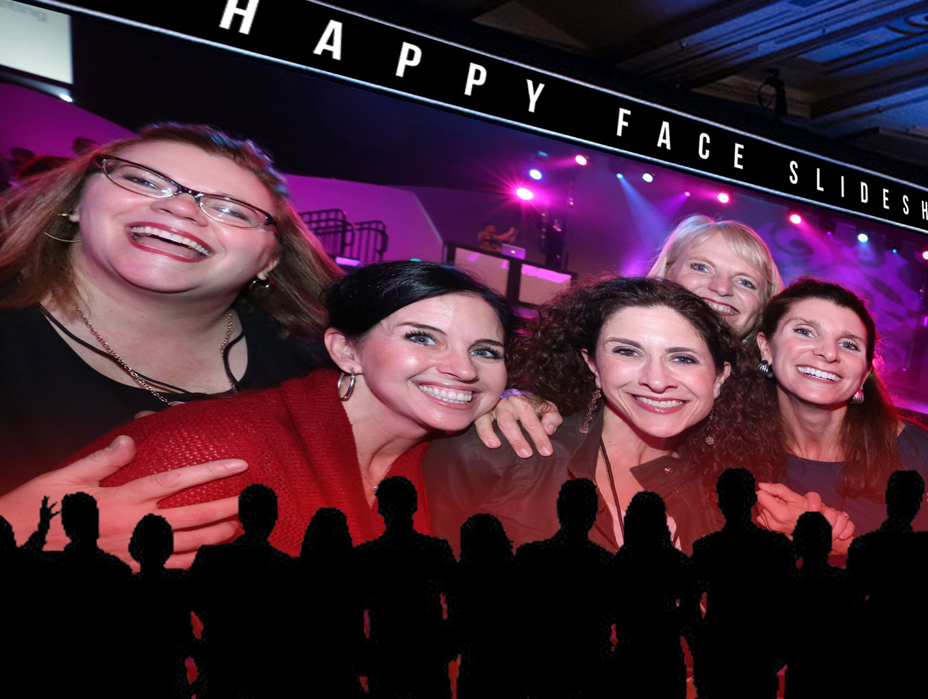Happy Face Slideshow For Your Next Event