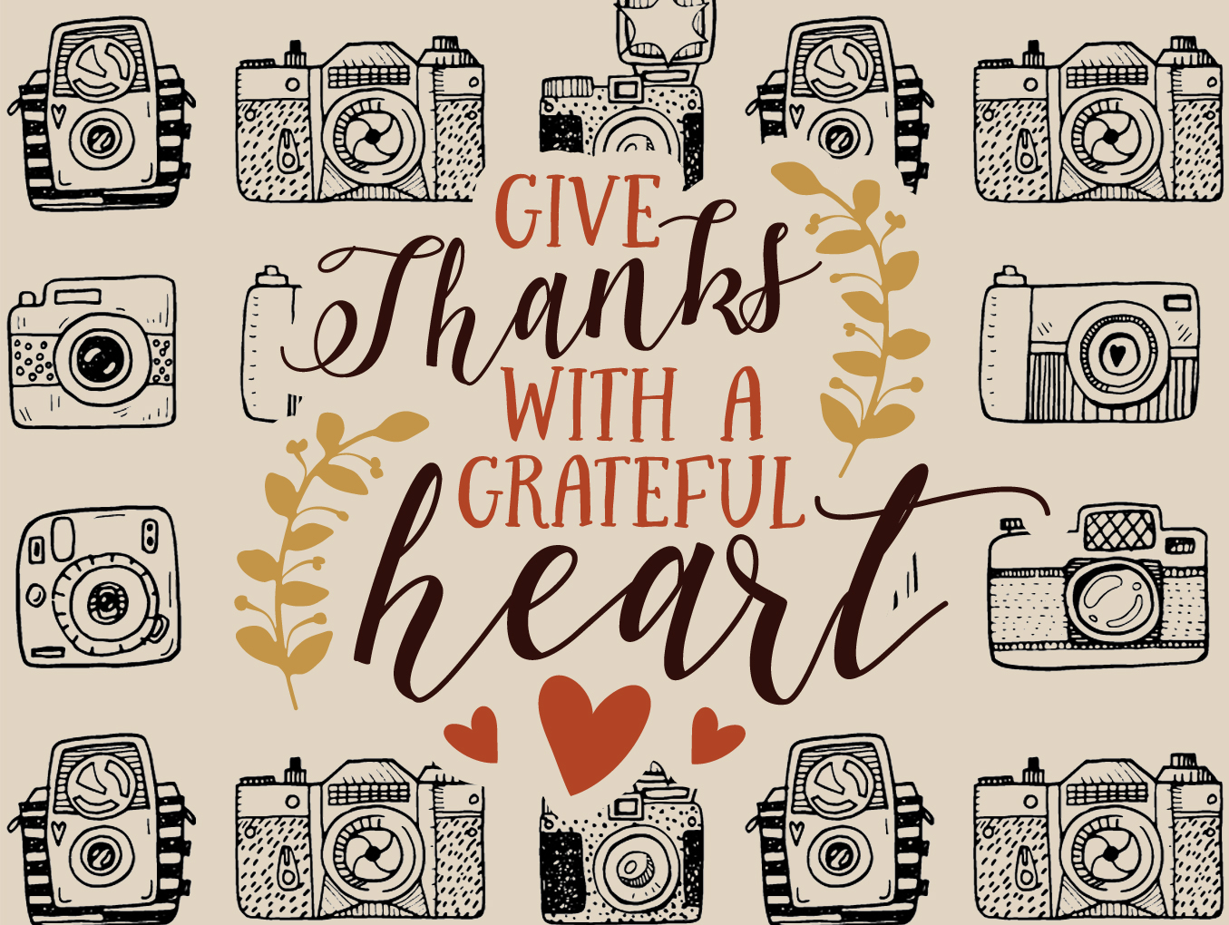 We Are Thankful